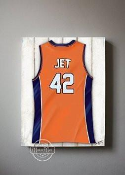 Personalized New York Knicks Basketball Jersey Boys Room Wall Decor - Man Cave Canvas Art-MuralMax Interiors
