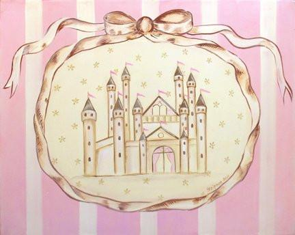 Striped - Princess Castle Theme - The Canvas Royalty Collection-B019016M3S