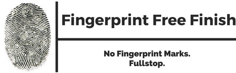 Fingerpint free finish
