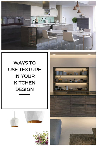 Kitchen Design Ideas Blog - Using Texture