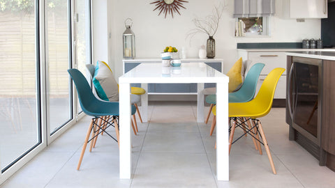 White Dining Table - Kitchen Ideas Blog