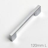 Slim D-Shaped Kitchen Door Bar Handle - Just Click Kitchens