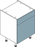 600mm Single Drawerline Flatpack Kitchen Unit - Just Click Kitchens