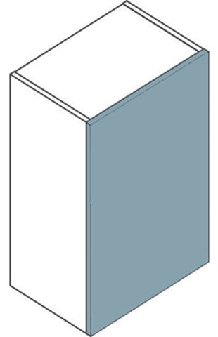 Single Tall 900mm H Flatpack Kitchen Wall Unit - Just Click Kitchens