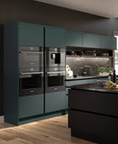 Serica Matt Kombu Green Acrylic Kitchen Doors & Drawers