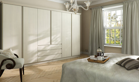 Knebworth Handleless Wardrobe Doors - Just Click Kitchens