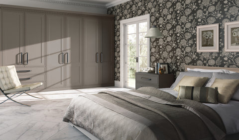 Tulleymore In Frame Style Wardrobe Doors