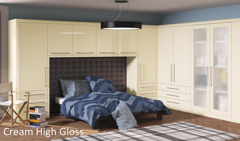 ... Venice High Gloss Slab Wardrobe Doors - Choose from 3 Colours - Just Click Kitchens ... & Venice High Gloss Slab Wardrobe Doors - Choose from 3 Colours u2013 Just ...