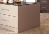 Bella 18mm Vinyl Kitchen End Panels - Made to Measure - Just Click Kitchens