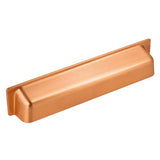 Brushed Copper Cup Door & Drawer Pull Handles - Just Click Kitchens