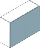 Double Flatpack Kitchen Wall Unit - Just Click Kitchens