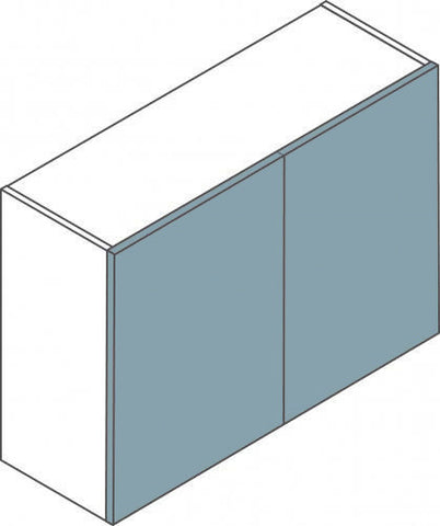 Double Flatpack Kitchen Wall Unit - Four Different Sizes Available - Just Click Kitchens