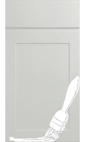 Elland Handleless Vinyl Paintable Kitchen Doors and Drawer Fronts