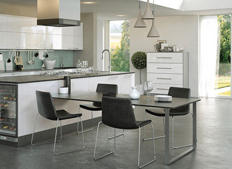 Firbeck Supergloss White High Gloss Kitchen Doors