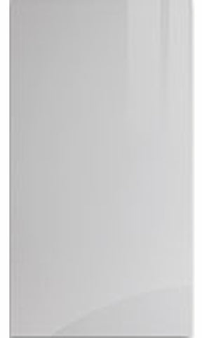 Firbeck Supergloss Light Grey High Gloss Kitchen Doors - Just Click Kitchens