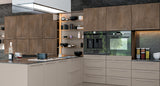 Valore Matt Grey Brown Metallo Kitchen Doors & Drawers - Just Click Kitchens