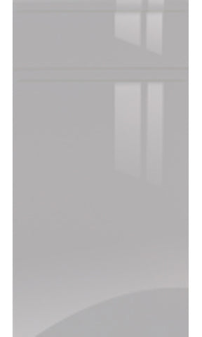 Jayline Handleless Light Grey High Gloss Kitchen Doors & Drawer Fronts