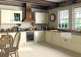 Ludlow Cream Vinyl Shaker Kitchen Doors & Drawers - Just Click Kitchens