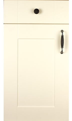 Ludlow Cream High Gloss Shaker Kitchen Doors - Just Click Kitchens