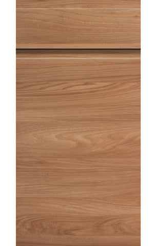 Malton Natural Elm Handleless Kitchen Doors - Just Click Kitchens