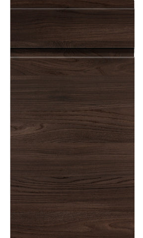 Malton Lava Elm Handleless Kitchen Doors - Just Click Kitchens