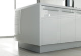 Zurfiz High Gloss Acrylic Kitchen Plinths & Kickboards - Just Click Kitchens