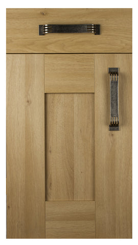 22mm Wilton Odessa Oak Oakgrain Shaker Kitchen Doors - Just Click Kitchens