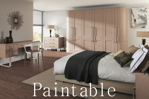 Paintable Shaker Wardrobe Doors - Just Click Kitchens