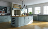 Shaker Paintable Vinyl Kitchen Doors & Drawers - Just Click Kitchens