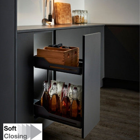 Snello Libell 300mm W Soft Close Base Unit Pullout - Just Click Kitchens