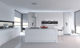 Venice Slab Paintable Vinyl Kitchen Doors & Drawers - Just Click Kitchens
