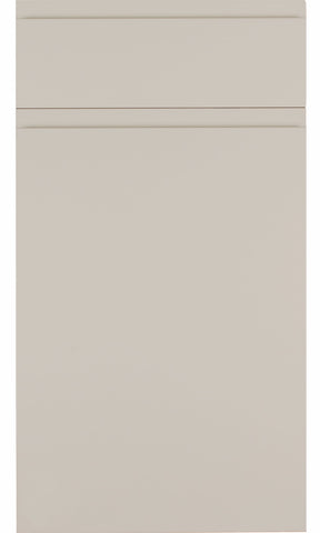 Rothwell Cashmere Matt Handleless Kitchen Doors - Just Click Kitchens