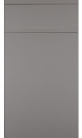 Rothwell Dust Grey Matt Handleless Kitchen Doors - Just Click Kitchens