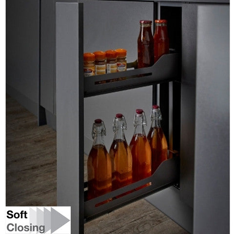 Snello Libell 150mm W Soft Close Base Unit Pullout - Just Click Kitchens