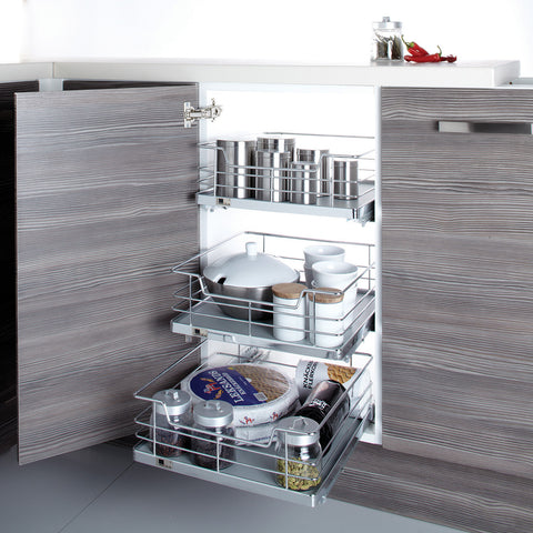 500mm W Ultimate Internal Soft Close Wire Drawer - Just Click Kitchens