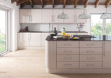 Zurfiz Cashmere High Gloss Acrylic Kitchen Doors - Just Click Kitchens