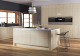 Zurfiz Limestone High Gloss Acrylic Kitchen Doors - Just Click Kitchens