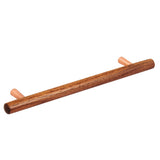 Tilaa Walnut & Copper Kitchen Bar Handles - Part of our Copper Collection - Just Click Kitchens