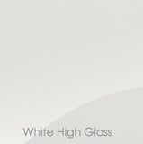 Zurfiz High Gloss Kitchen Pelmet & Cornice Rail - Just Click Kitchens