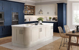 22mm Wilton Oakgrain Azure Blue Shaker Kitchen Doors & Drawers