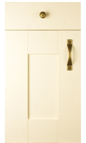 22mm Wilton Cream Oakgrain Shaker Kitchen Doors - Just Click Kitchens