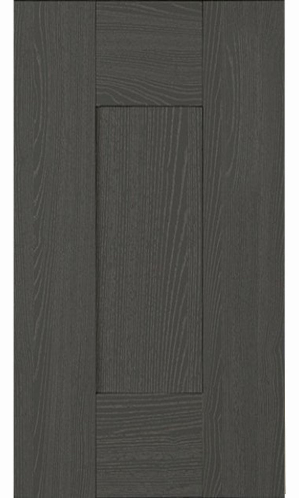 22mm Wilton Oakgrain Graphite Grey Shaker Kitchen Doors
