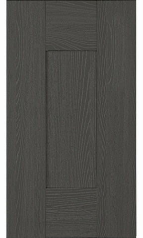 22mm Wilton Oakgrain Graphite Shaker Kitchen Doors - Just Click Kitchens