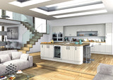 22mm Wilton Oakgrain White Shaker Kitchen Doors - Just Click Kitchens