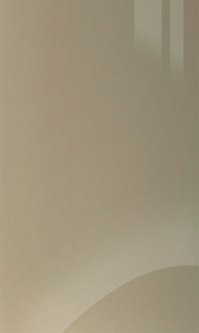 Zurfiz Metallic Champagne High Gloss Acrylic Kitchen Doors - Just Click Kitchens