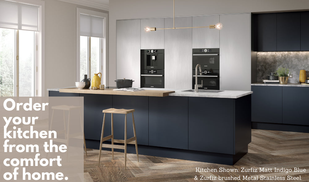 Paintable Kitchen Doors and Drawer Fronts from Just Click Kitchens