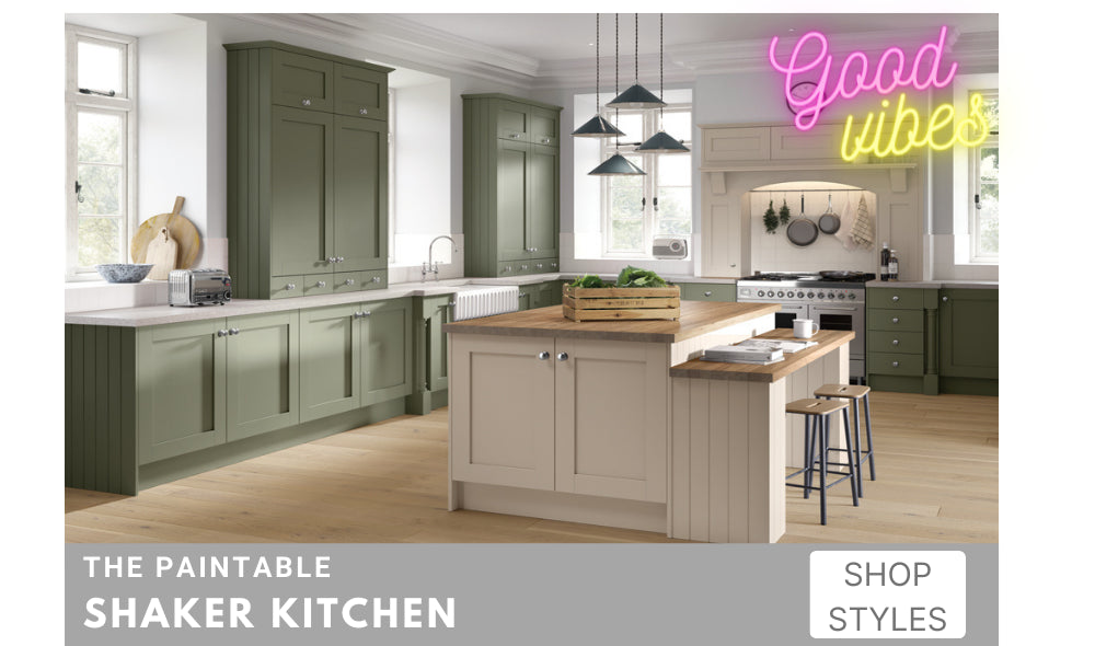 Matt White Shaker Kitchen Cabinet Doors fit most fitted kitchen cupboard units
