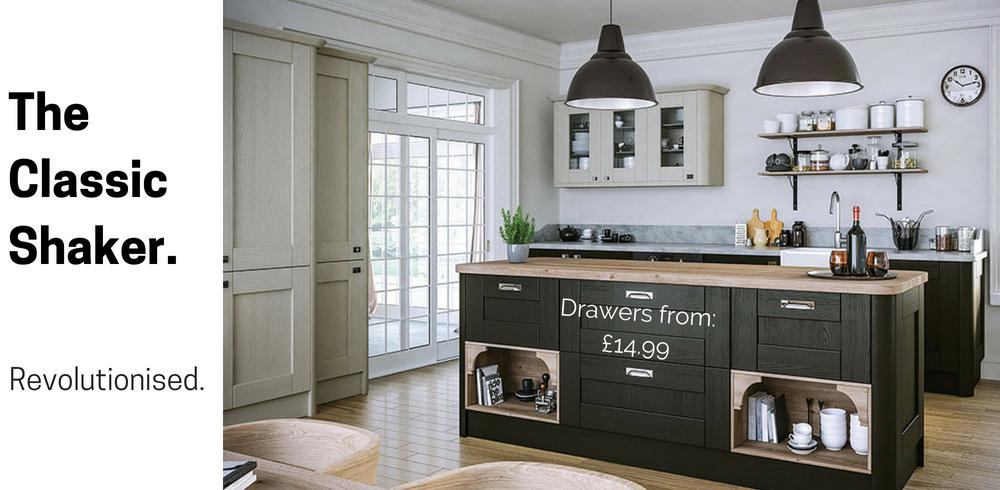 Shaker Kitchen Doors and Drawer Fronts