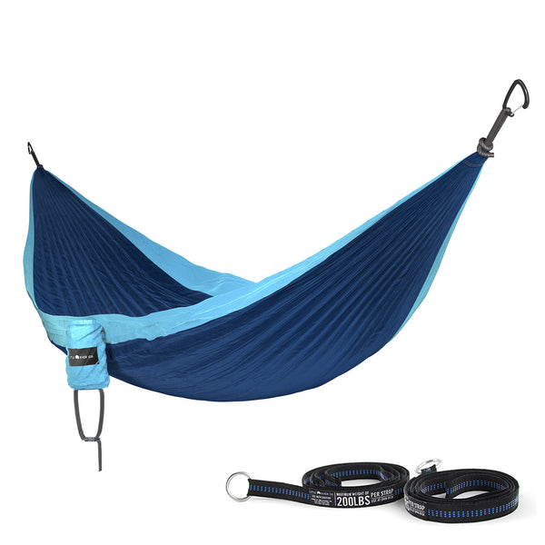 Little River Co. Single Hammock with Straps