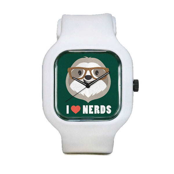Cuipo I Love Nerds Watch